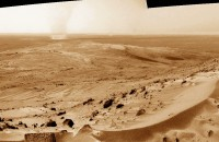 Dust devil sepia